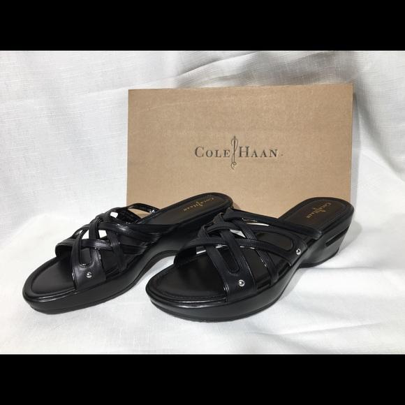 7e1c0bf568a Cole Haan Air Ezra slide sandals
